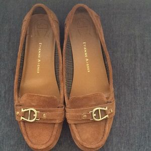 Etienne Aigner  suede shoes